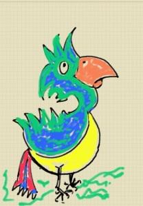 Galaxy Note doodle